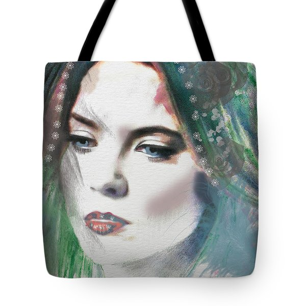 Carrie Under Veil Tote Bag by Kim Prowse