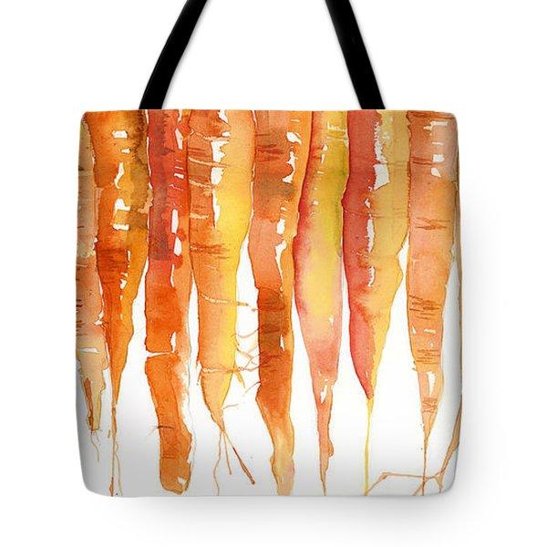 Carrot Bunch Art Blenda Studio Tote Bag