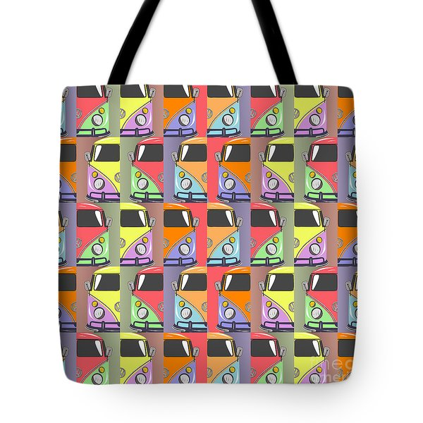 Cars Abstract  Tote Bag by Mark Ashkenazi