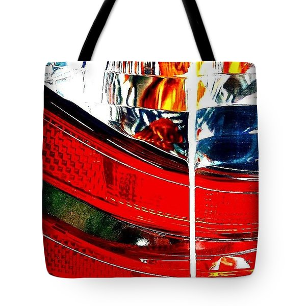 Brake Light Tote Bag