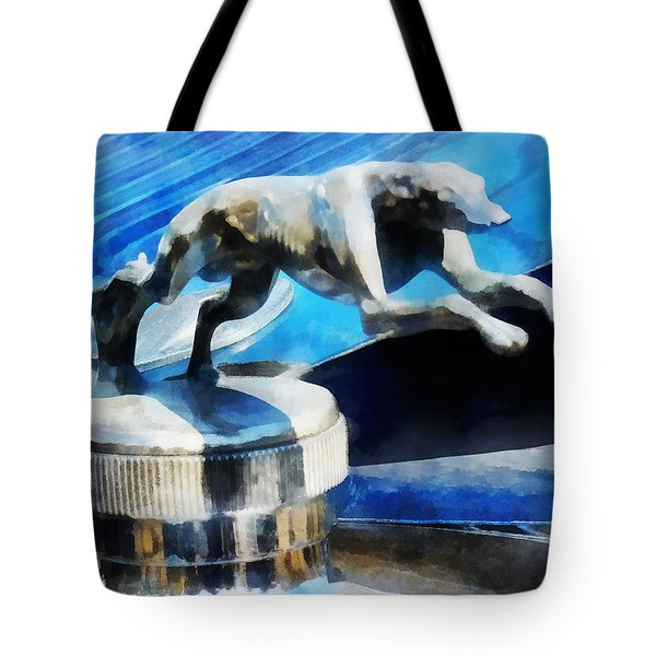 Cars - Lincoln Greyhound Hood Ornament Tote Bag