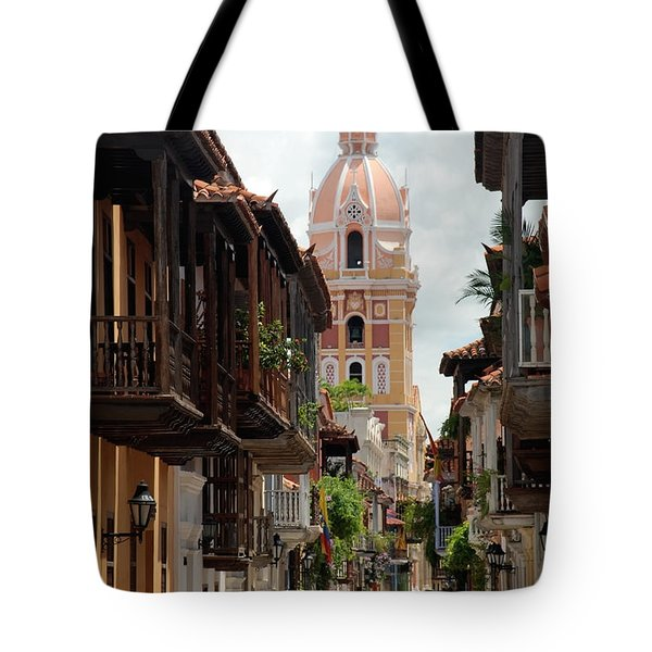 Cartagena Tote Bag by Jola Martysz