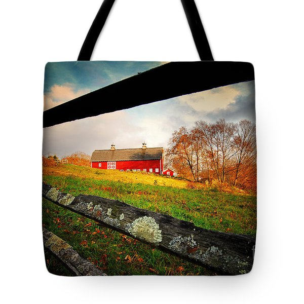 Carter Farm Connecticut Tote Bag by Sabine Jacobs
