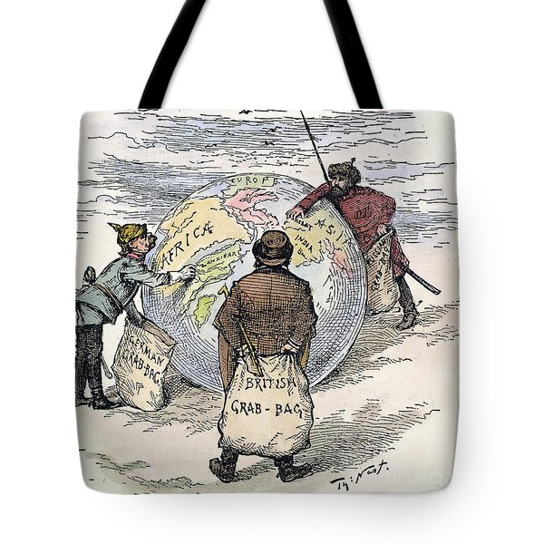 Cartoon - Imperialism 1885 Tote Bag by Granger