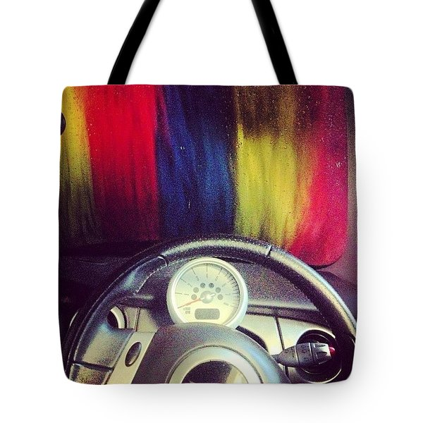 #carwash Tote Bag