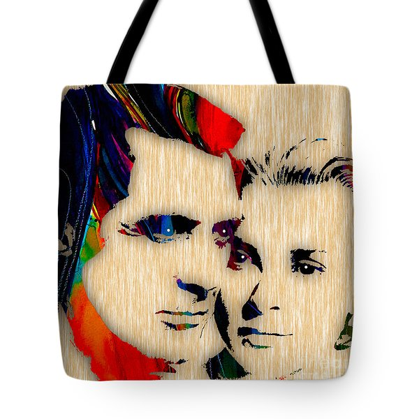Cary Grant And Grace Kelly Collection Tote Bag