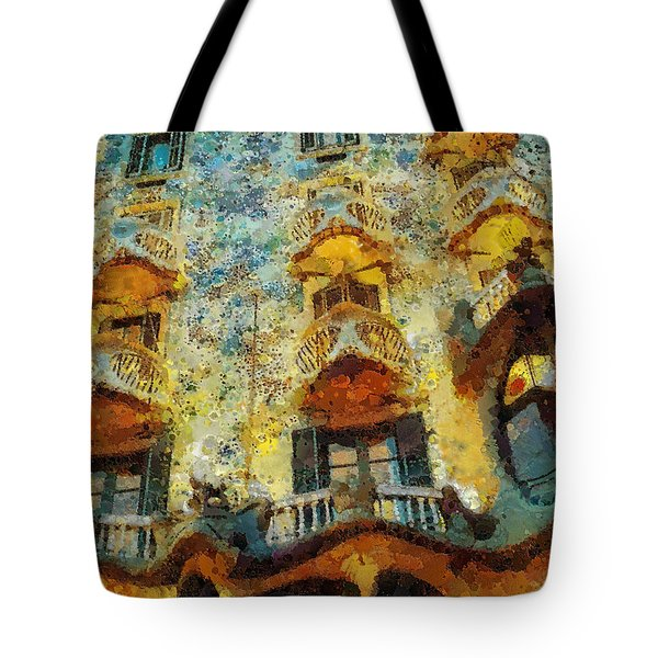 Casa Battlo Tote Bag