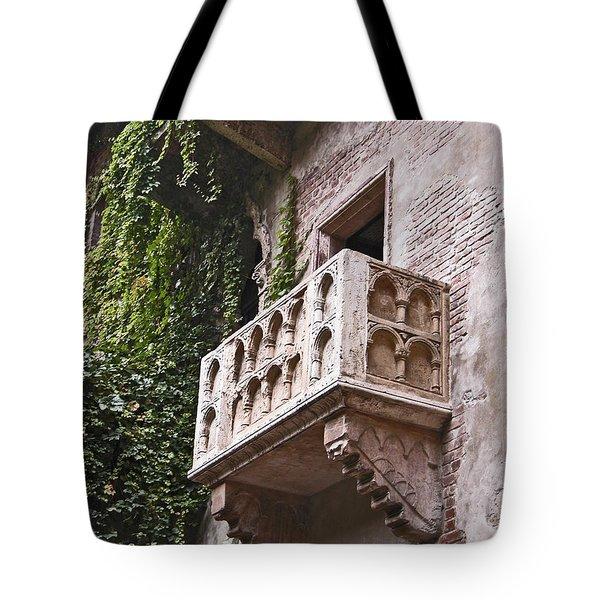 Casa Di Giulietta Tote Bag