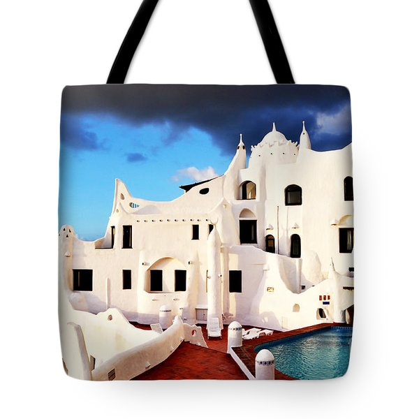 Casa Pueblo Al Mar Tote Bag