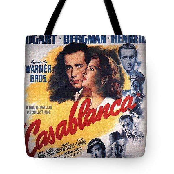 Casablanca In Color Tote Bag