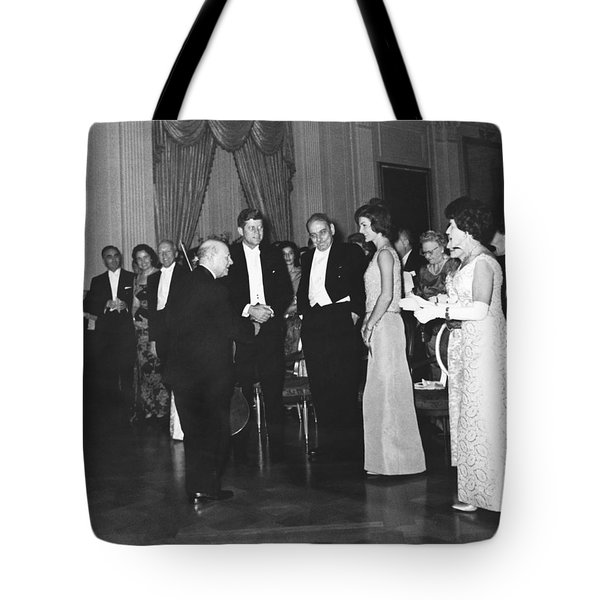 Casals White House Convert Tote Bag by Underwood Archives