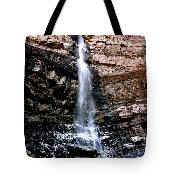 Cascade Falls Tote Bag by Jeff Gater