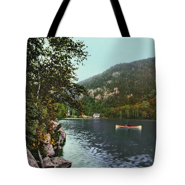 Cascade Lake, C1902 Tote Bag