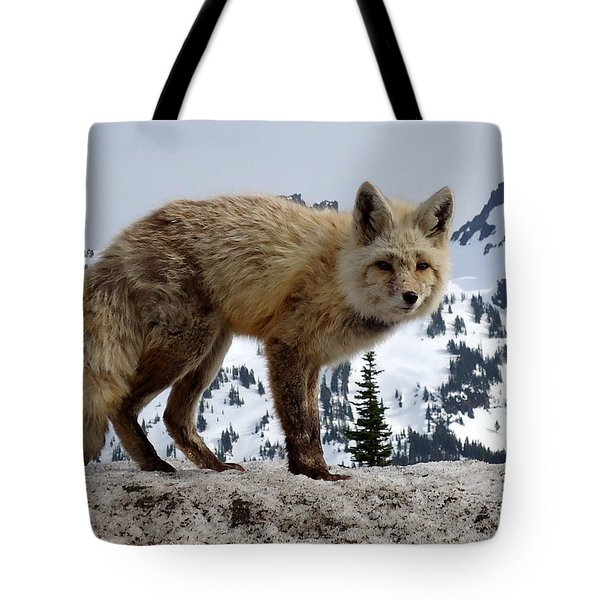Cascade Red Fox 1 Tote Bag
