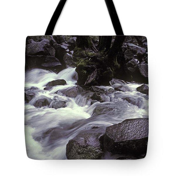 Cascade Tote Bag by Ron Sanford