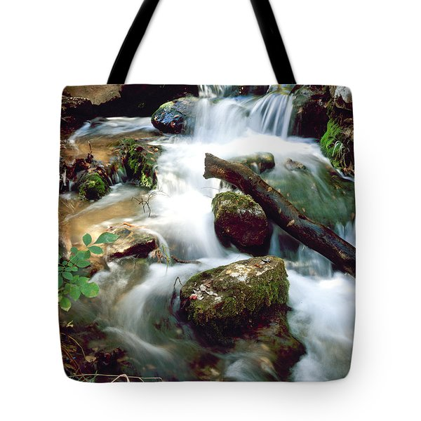 Cascades In Roman Nose State Park Tote Bag