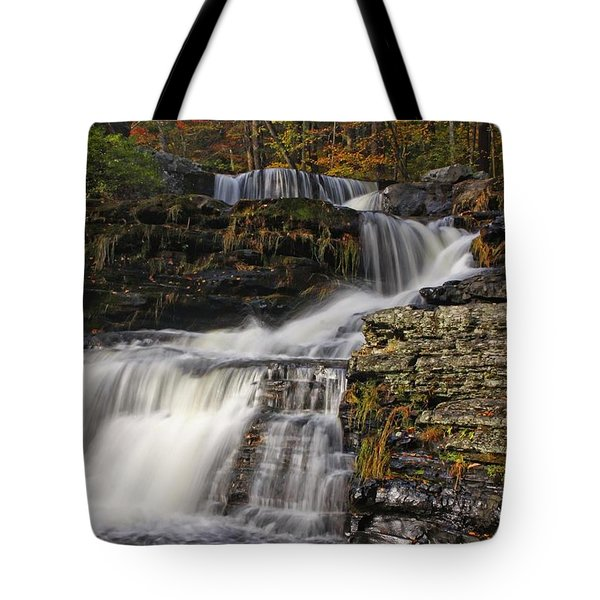 Cascading Forever Tote Bag by Marcia Lee Jones