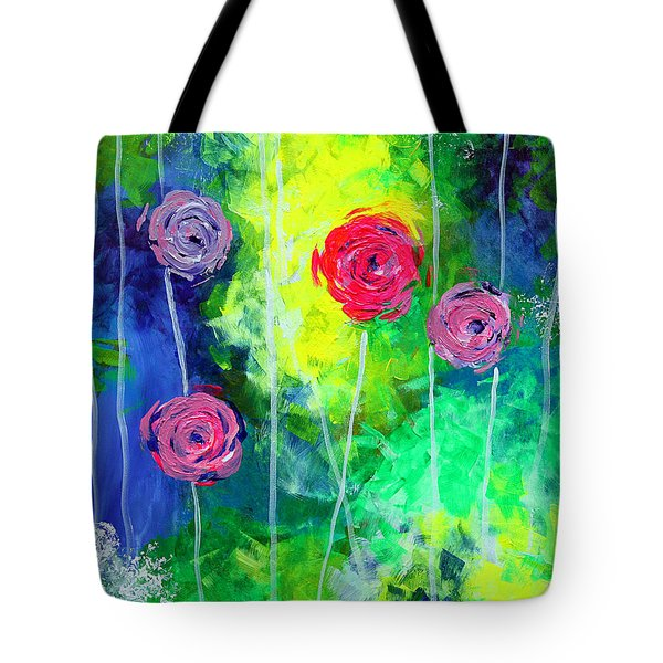 Cascading Light By Jan Marvin Tote Bag by Jan Marvin