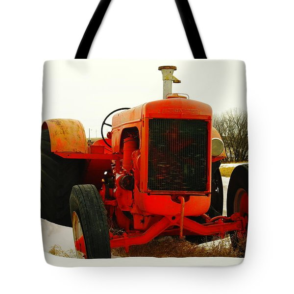 Case Tractor Tote Bag by Jeff Swan