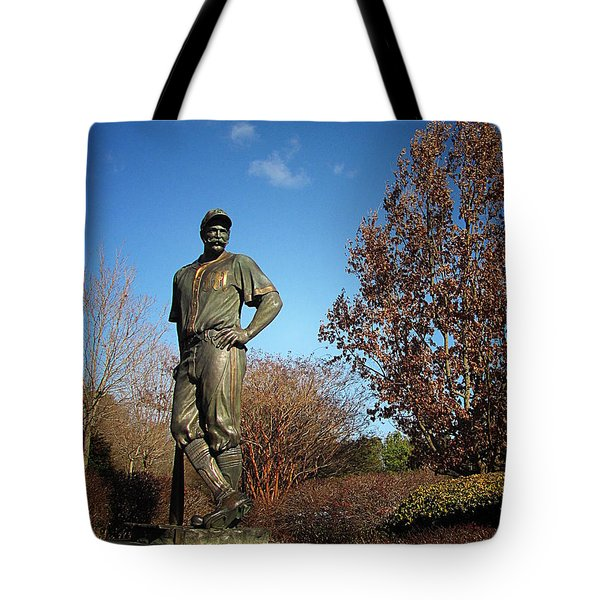 Casey Waits For Spring Tote Bag
