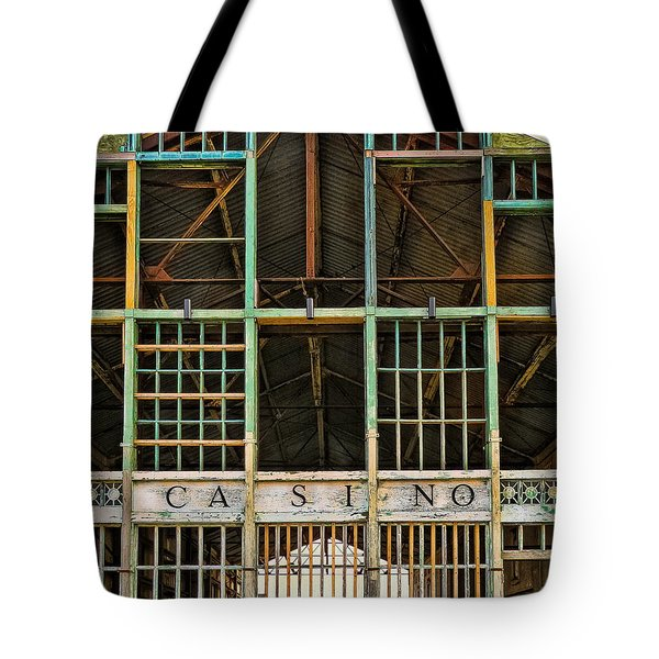 Casino In Multi-color Tote Bag by Colleen Kammerer