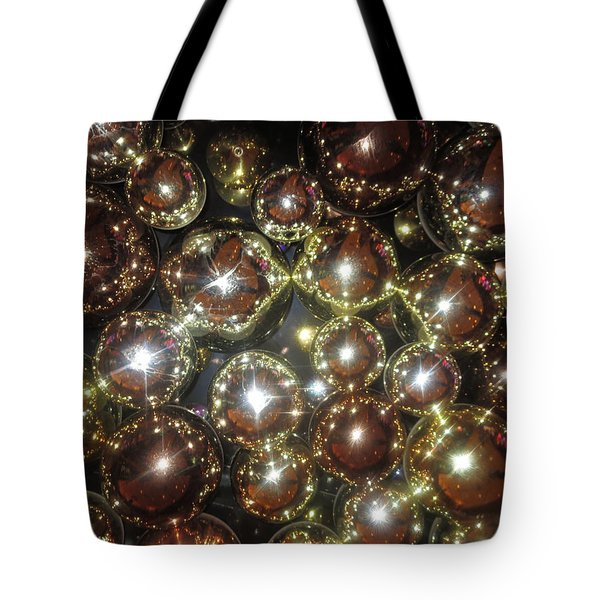 Tote Bag featuring the photograph Casino Sparkle Interior Decorations by Navin Joshi