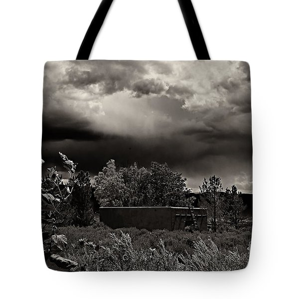 Casita In A Storm Tote Bag