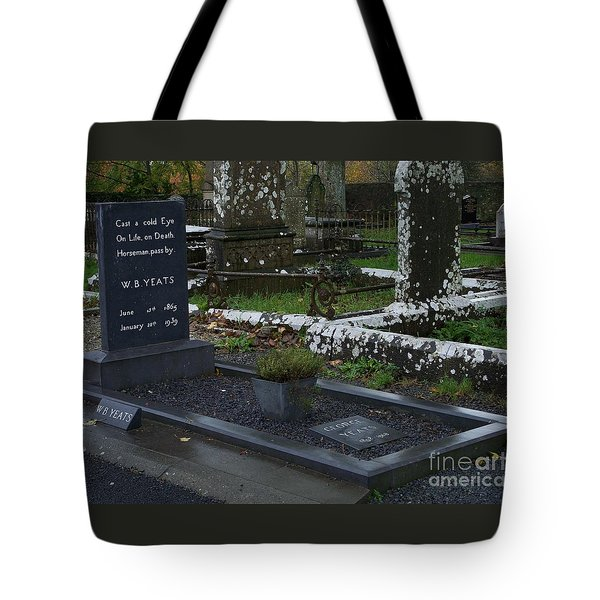 Cast A Cold Eye Tote Bag