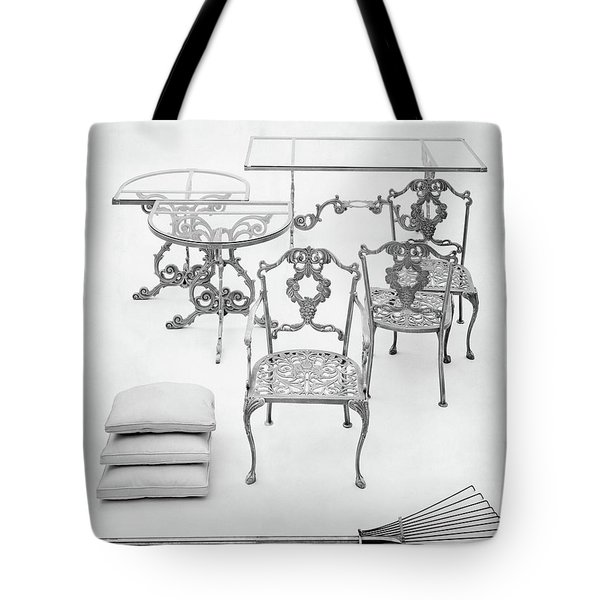 Cast Aluminum Furniture By Molla Tote Bag