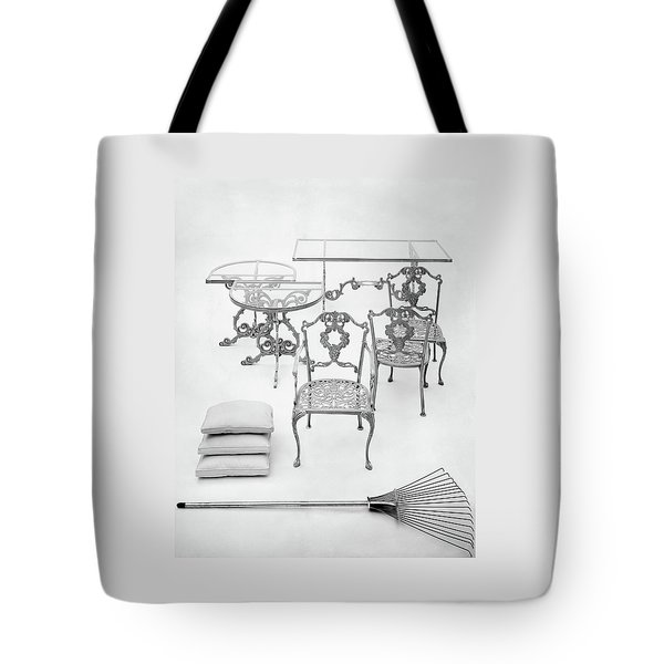 Cast Aluminum Furniture By Molla Tote Bag