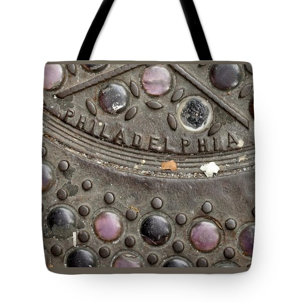 Cast Iron Philadelphia Tote Bag by Christopher Woods