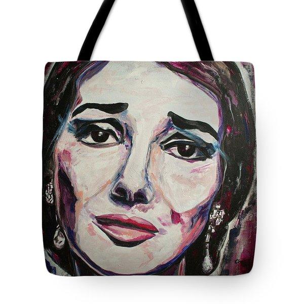 Casta Diva Tote Bag