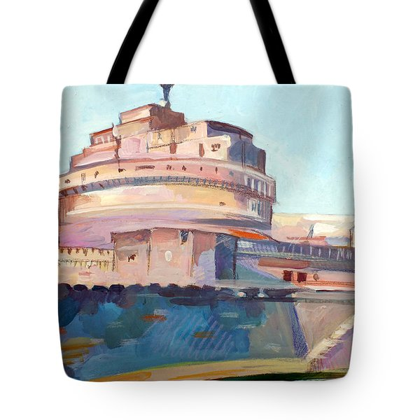 Castel Sant' Angelo Tote Bag by Filip Mihail
