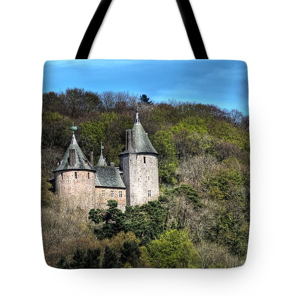 Castell Coch Cardiff Tote Bag by Steve Purnell