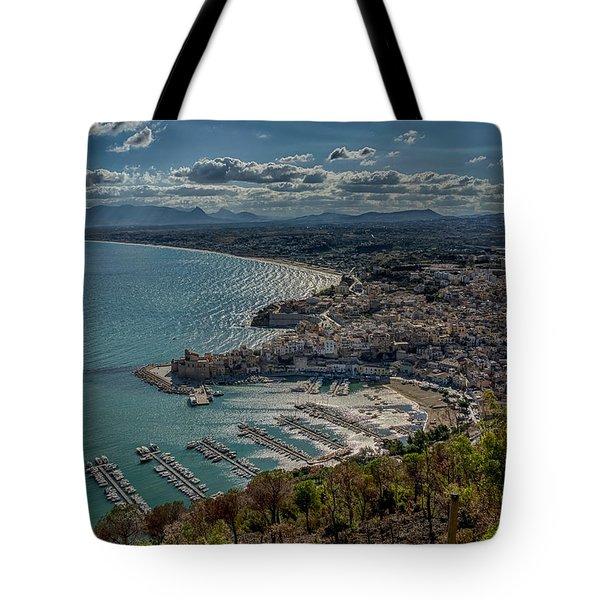 Castellammare Del Golfo Tote Bag