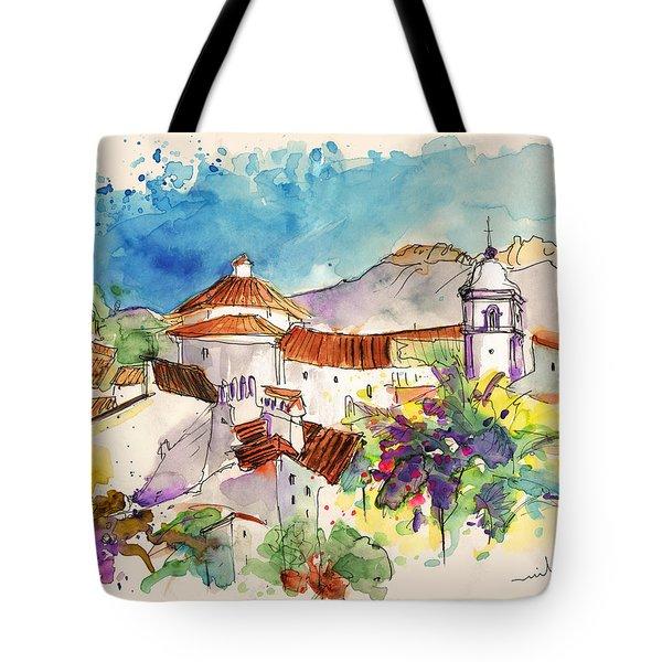 Castelo De Vide In Portugal 01 Tote Bag by Miki De Goodaboom