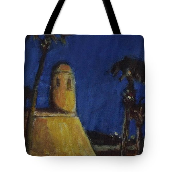 Castillo At Night Tote Bag