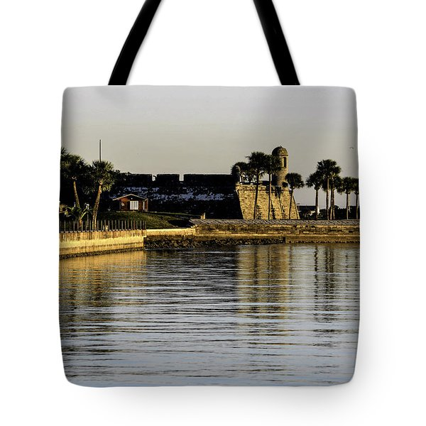 Tote Bag featuring the photograph Castillo De San Marcos by Anthony Baatz