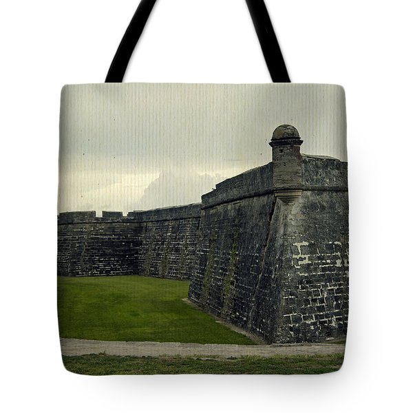 Castillo San Marcos 5 Tote Bag by Laurie Perry