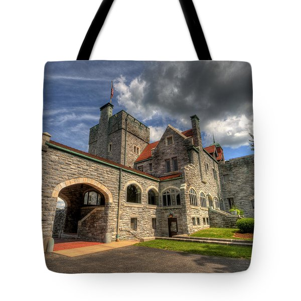 Castle Administration Building Tote Bag