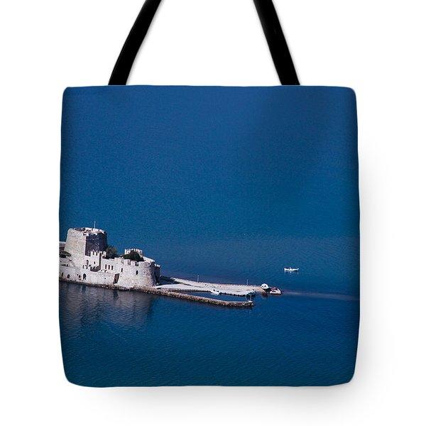 Castle Bourtzi Tote Bag