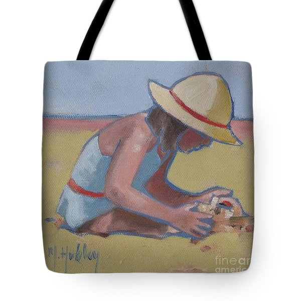 Castle Builder Beach Sand Castle Tote Bag