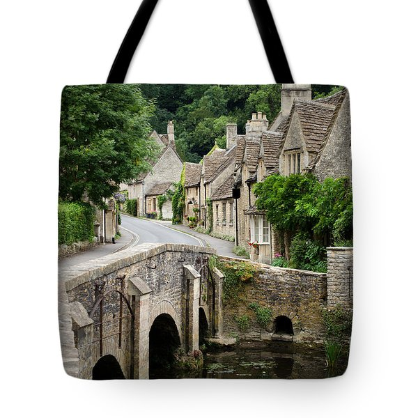Castle Combe Cotswolds Village Tote Bag