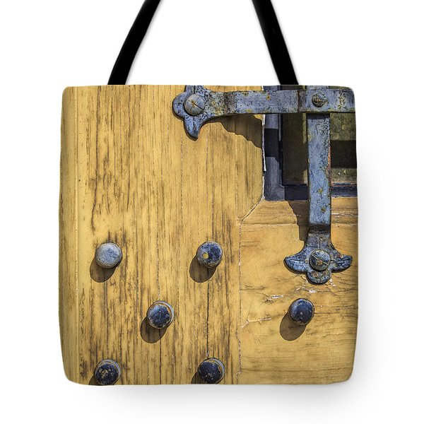 Castle Door Tote Bag