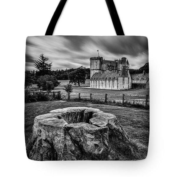 Castle Fraser Tote Bag by Dave Bowman