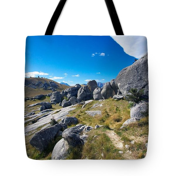 Tote Bag featuring the photograph Castle Hill #4 by Stuart Litoff