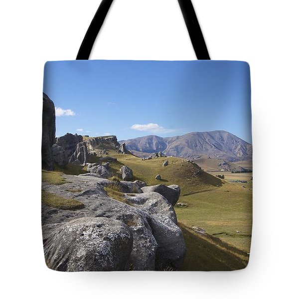 Tote Bag featuring the photograph Castle Hill #6 by Stuart Litoff