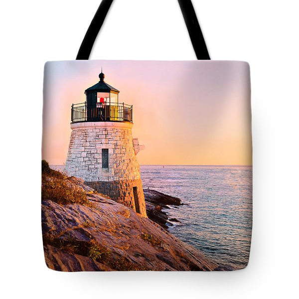 Castle Hill Light 3 Tote Bag