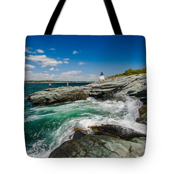 Castle Hill Lighthouse Tote Bag