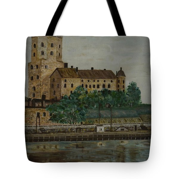 Castle Of Vyborg Tote Bag